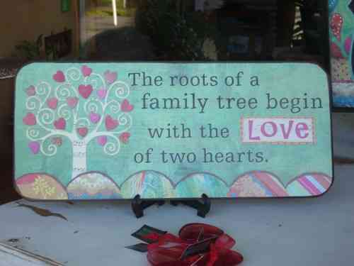 """The roots of a family tree begin ..."""""""