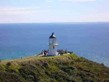 CAPE REINGA IN THE NORTH OF NEW ZEALAND