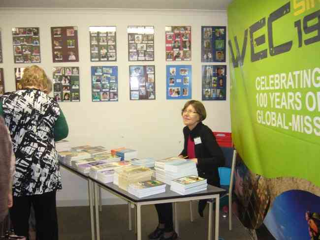 THE BOOKSTALL AT THE REUNION