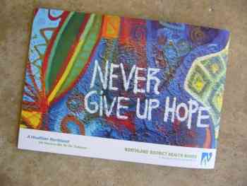 """""""NEVER GIVE UP HOPE"""""""