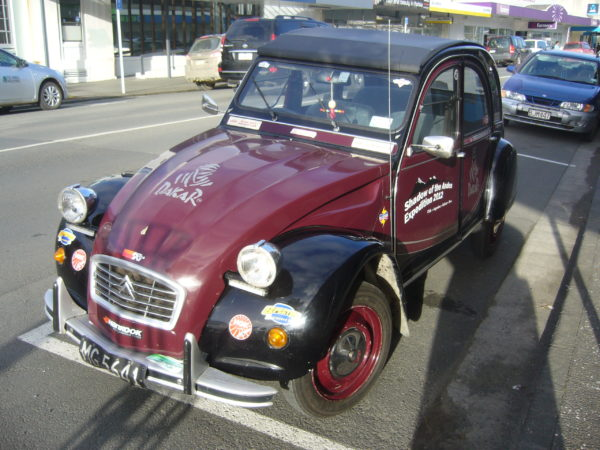 A car like this is not often seen on the streets of Kaitaia