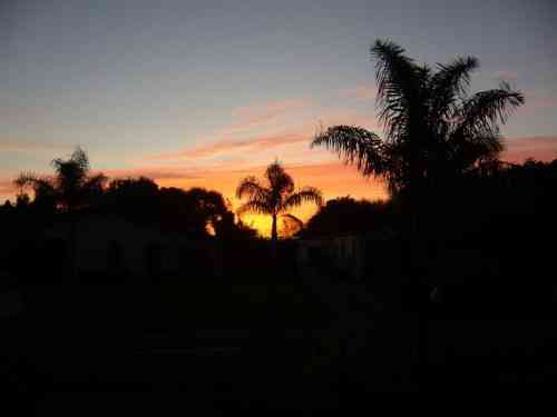 SUNSET IN KAITAIA