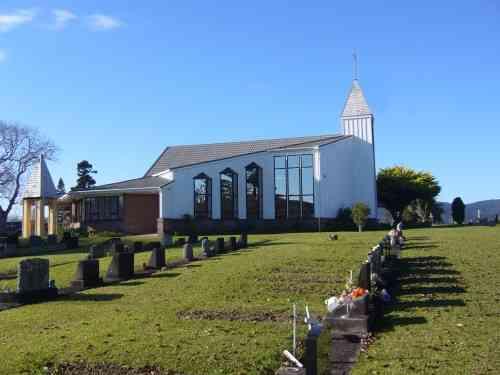 St Saviours Church in Kaitaia