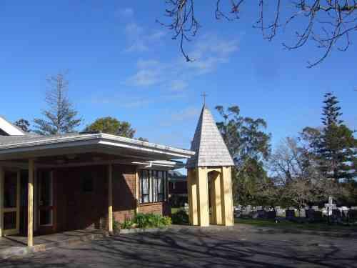 St Saviour's Anglican Church in Kaitaia